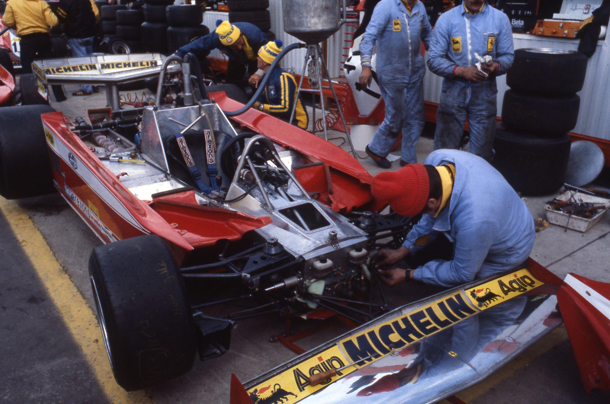 Gilles-Villeneuve-Montreal-1978-Garage