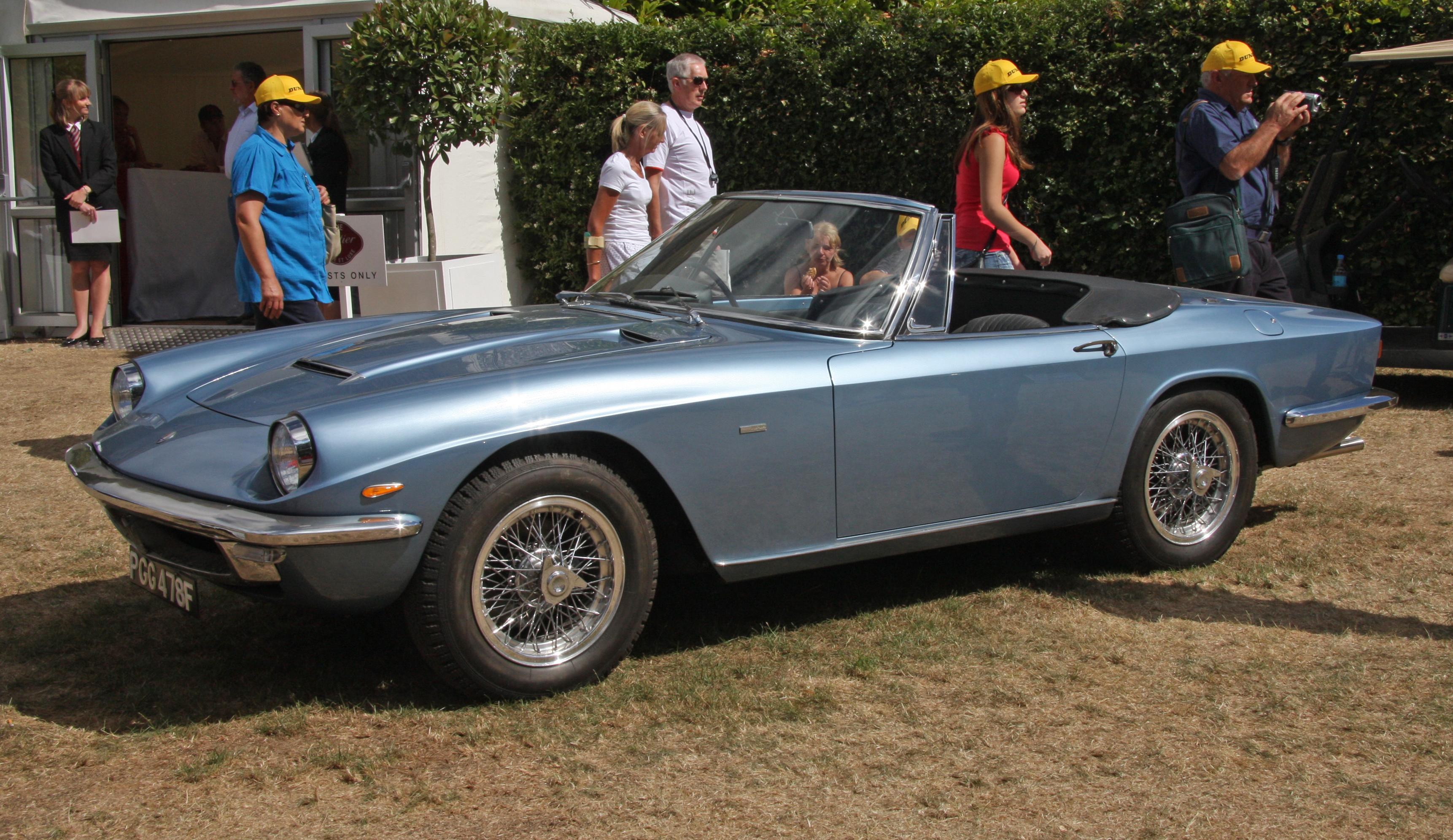 Maserati Mistral Spyder - Philippe Laguë