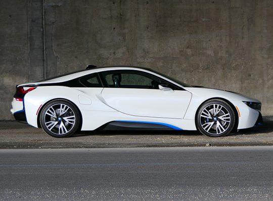 Essai routier : BMW i8 2017