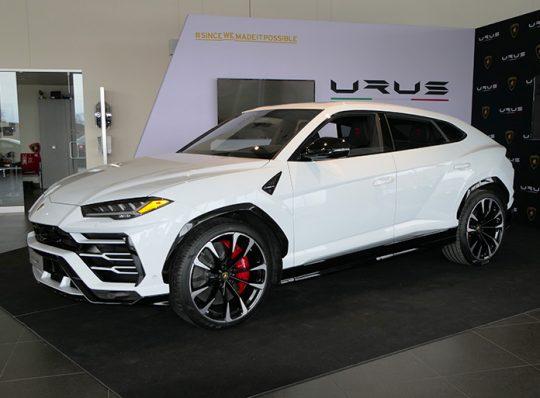 Présentation Lamborghini Urus