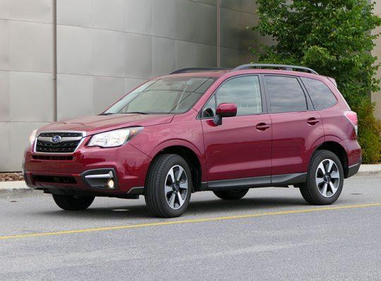 Essai routier : Subaru Forester (podcast 54)