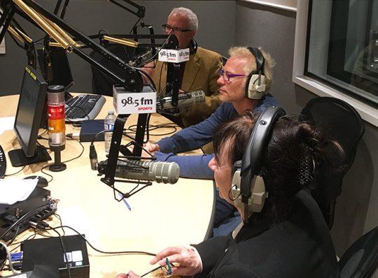 Souvenirs de Gilles avec Joann et Jacques (entrevue radio 98,5 FM)