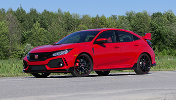 Essai routier : Honda Civic Type R (podcast 65)