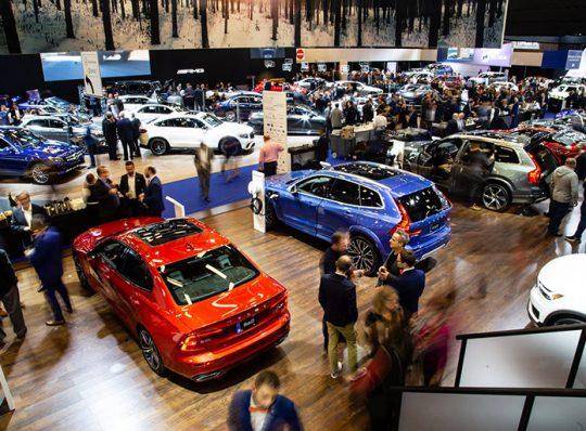 Visite du Salon de l'auto de Montréal 2019 (entrevue télé Radio-Canada)