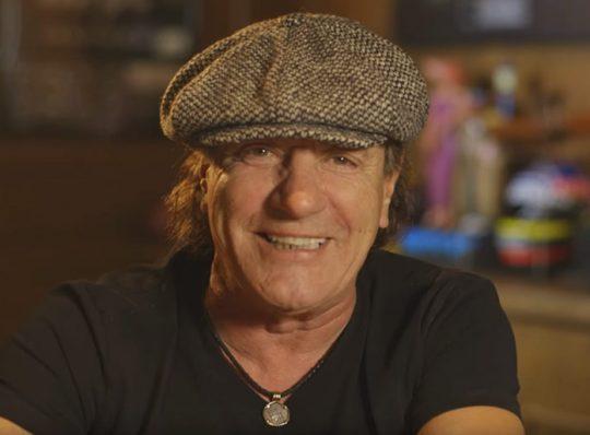 Rockers collectionneurs : Brian Johnson