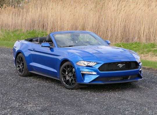 Essai routier : Ford Mustang (podcast 100)