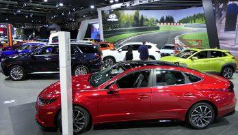 Visite du Salon de l'auto de Montréal 2020 (entrevue télé Radio-Canada)