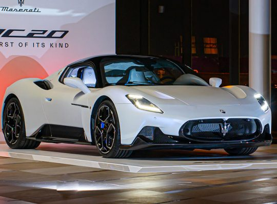 La Maserati MC20 existe, nous l'avons vue!